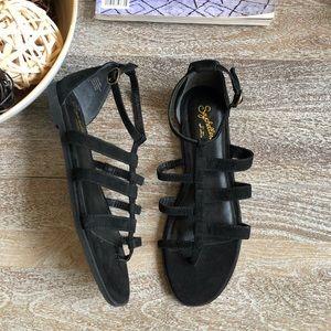 Seychelles Contribution Leather Gladiator Sandal